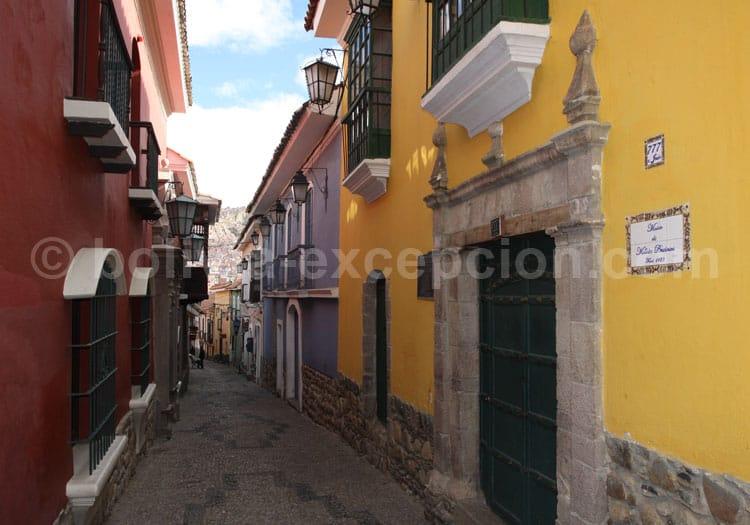 Rue Jaén, La Paz
