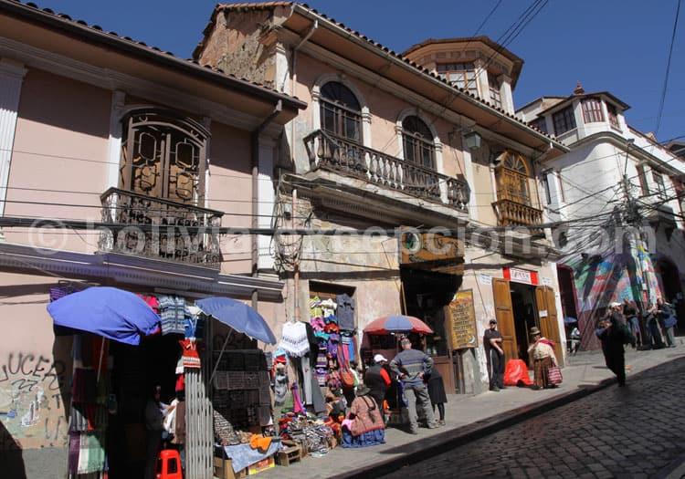 Rue Sagarnaga, La Paz
