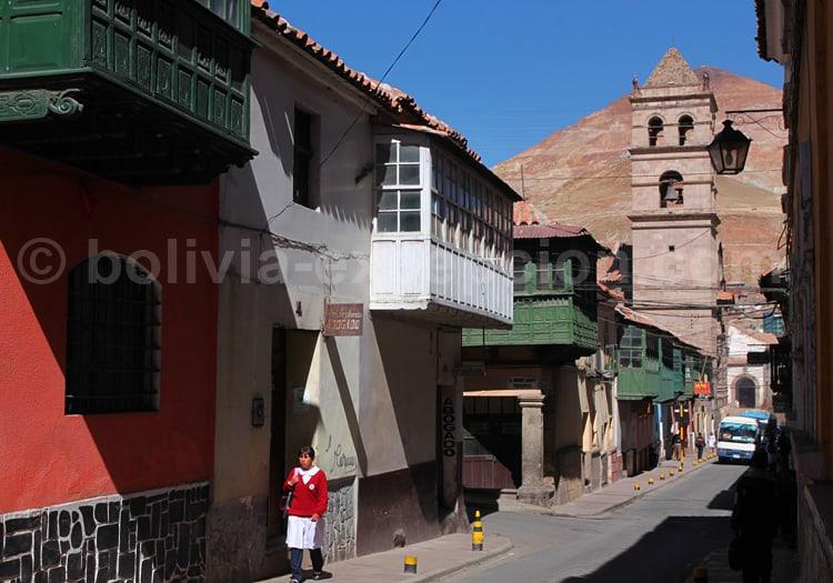 Rue Tarija, Potosi