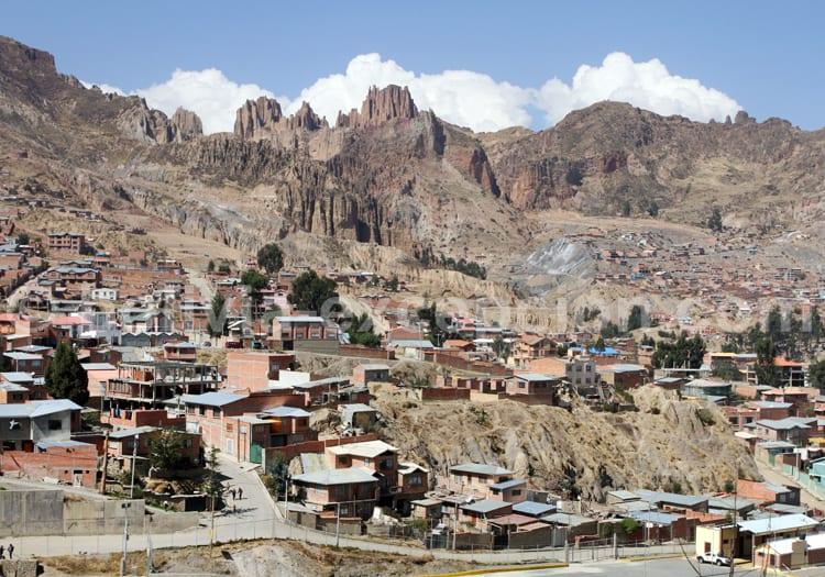 Climat de La Paz, Bolivie