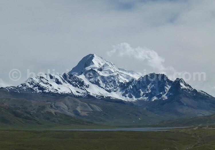 Le Nevado Huayna Potosi, département de La Paz