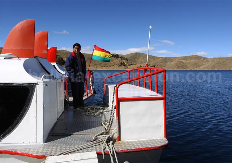 Traversée du lac Titicaca en aliscafo