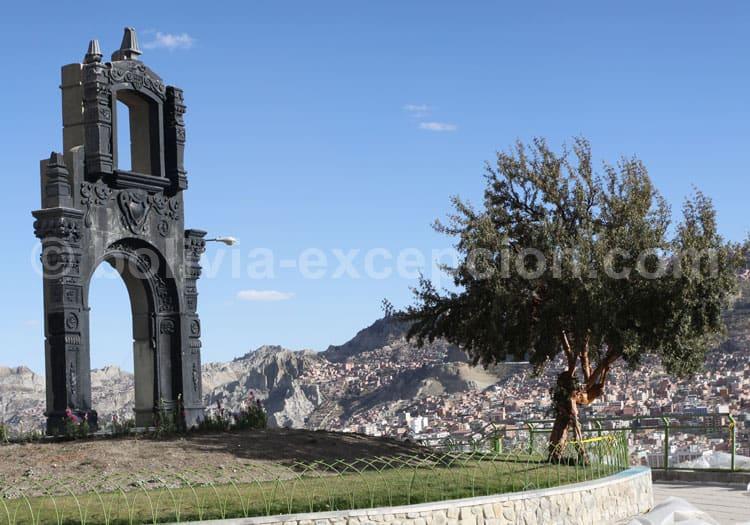 Mirador Kili Kili, La Paz