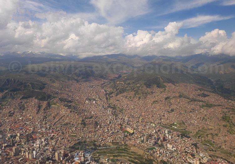 Géographie de la ville La Paz