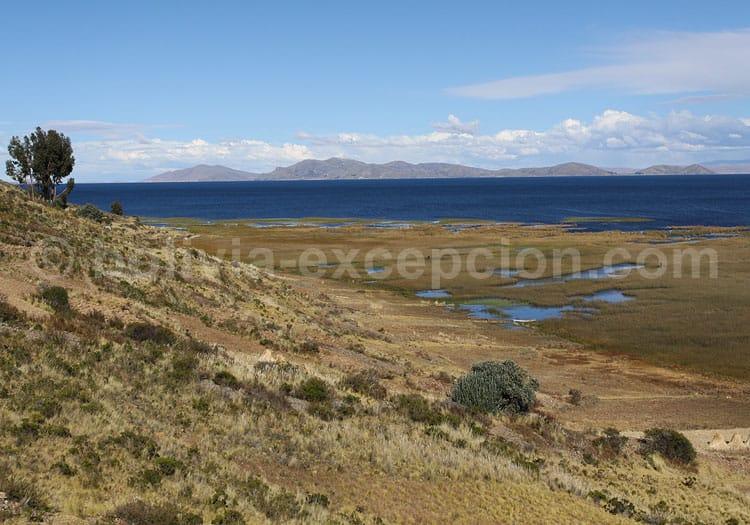 Lac Titicaca, département de La Paz