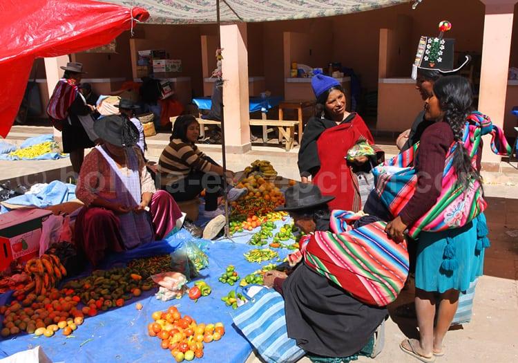Marché de Tarabuco, Chuquisaca