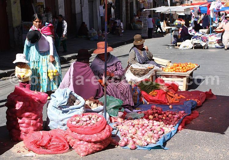 Mercados y Tambos, La Paz