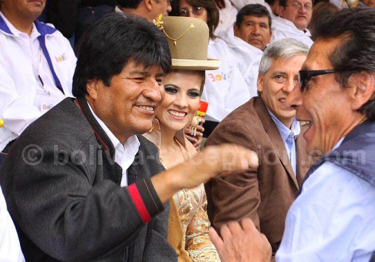 Evo Morales, Ex-Président de Bolivie