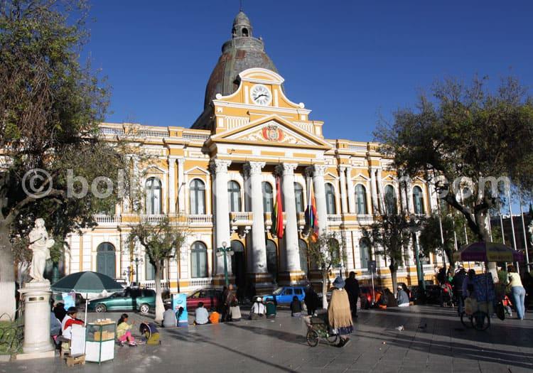 Palais législatif, Place Murillo, La Paz