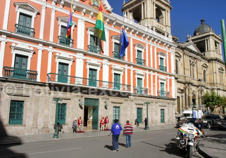 Palais du gouvernement, La Paz