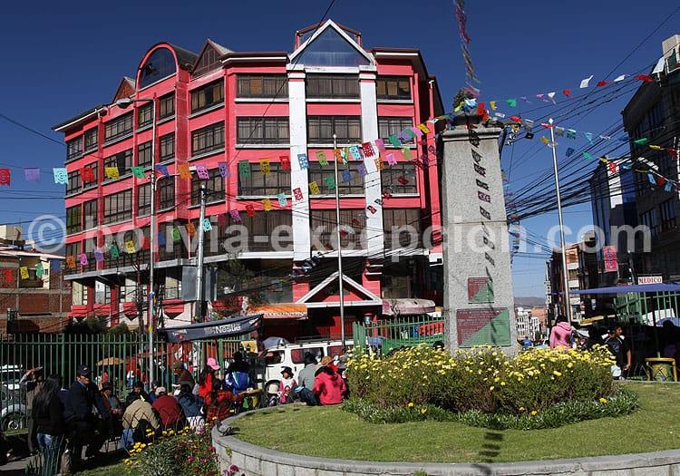 Place Marcelo Quiroga, La Paz