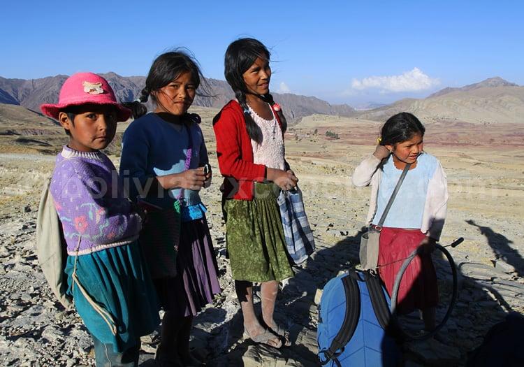 Comité d'adieu, voyage en Bolivie