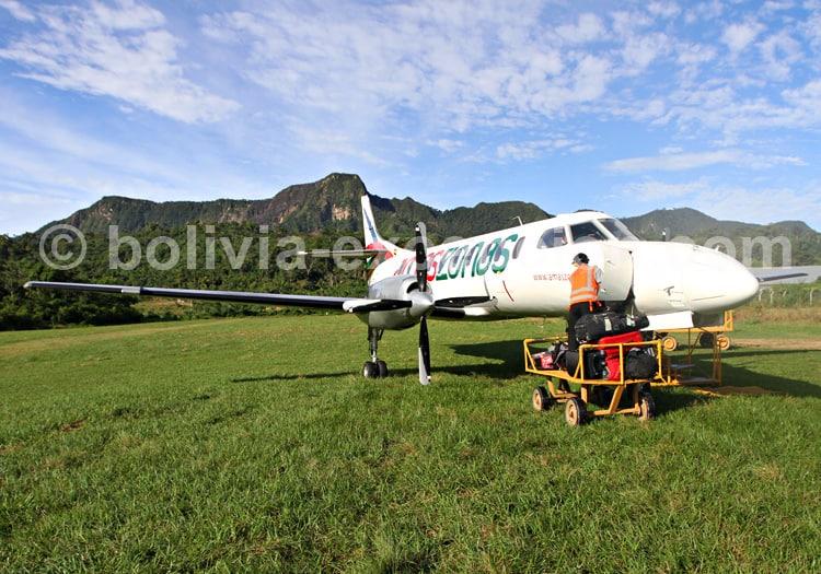 Vol de La Paz à Rurrenabaque