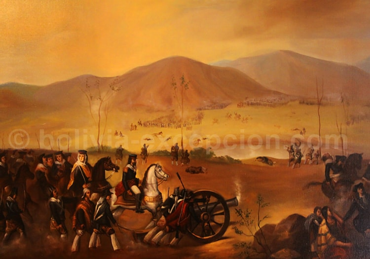 La colonisation espagnole de la Bolivie