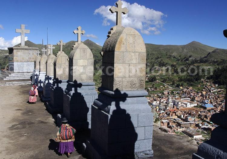 Chemin de croix de Copacabana, Titicaca