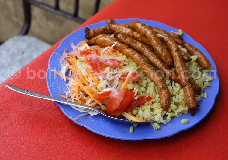 Chorizo criollo, Cochabamba