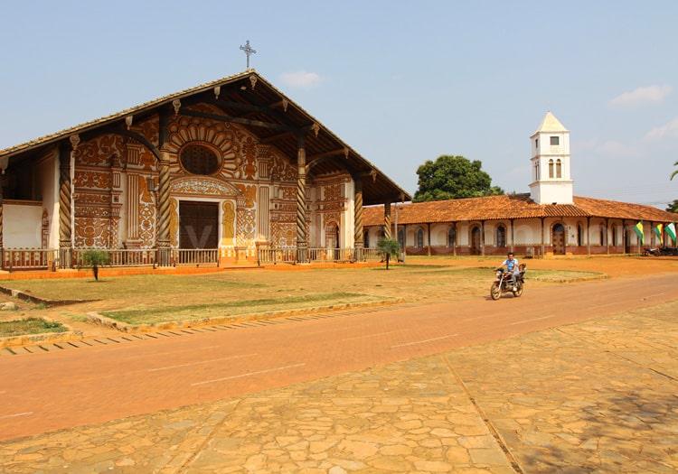 Eglise jésuite de Concepcion, Bolivie
