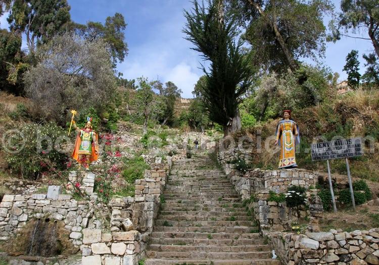 Escaliers Yumani