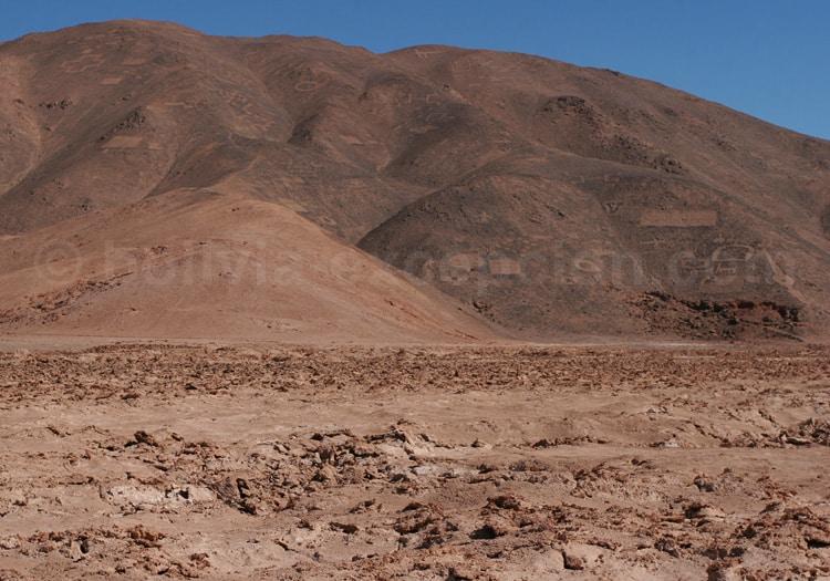 Cerros Pintados, géoglyphes