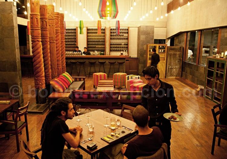 Restaurant Gustu à La Paz