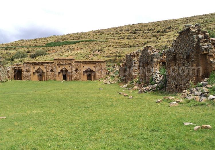 Isla de la Luna, île de La Lune, Titicaca