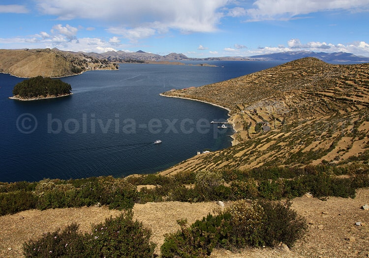 Isla del Sol, île du Soleil, Titicaca