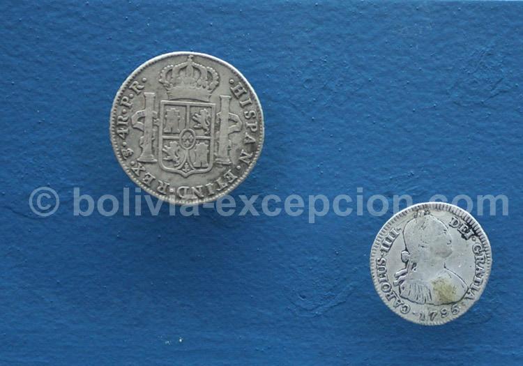 Monnaie époque Carlos III, Casa de la Moneda