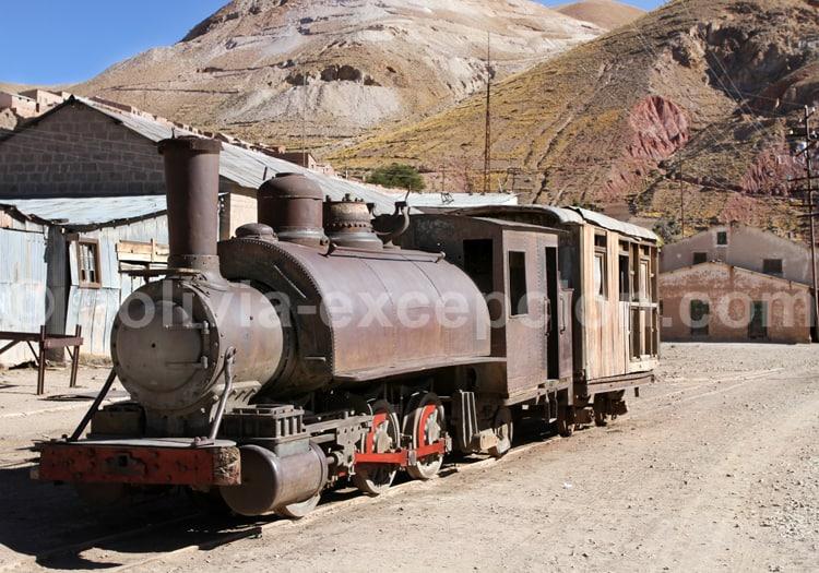 Musée des locomotives de Pulacayo