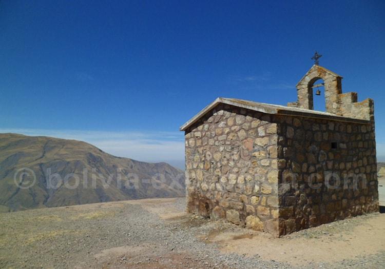 Piedra del Molino à 3.348 m, haut de la Côte del Obispo