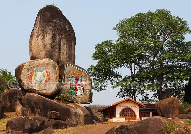 Las Piedras de Paquio, Santa Cruz