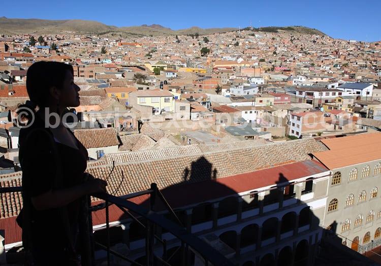 Panorama de Potosi depuis tour de La Compagnie de Jésus