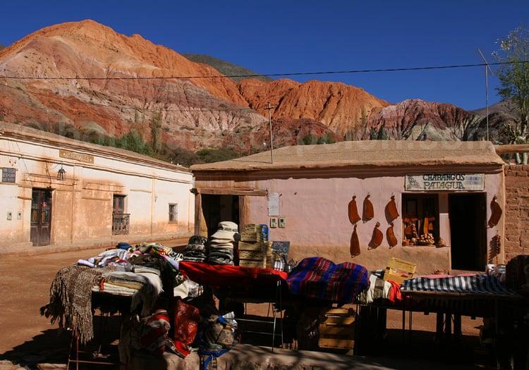 Marché de Purmamarca et Cerro de Los Siete Colores