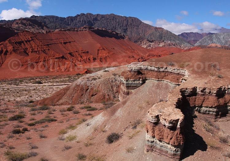 Excursion dans la Quebrada Las Conchas