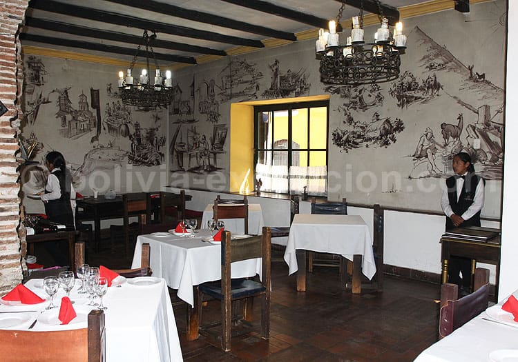 Restaurant El Mesón, Potosí