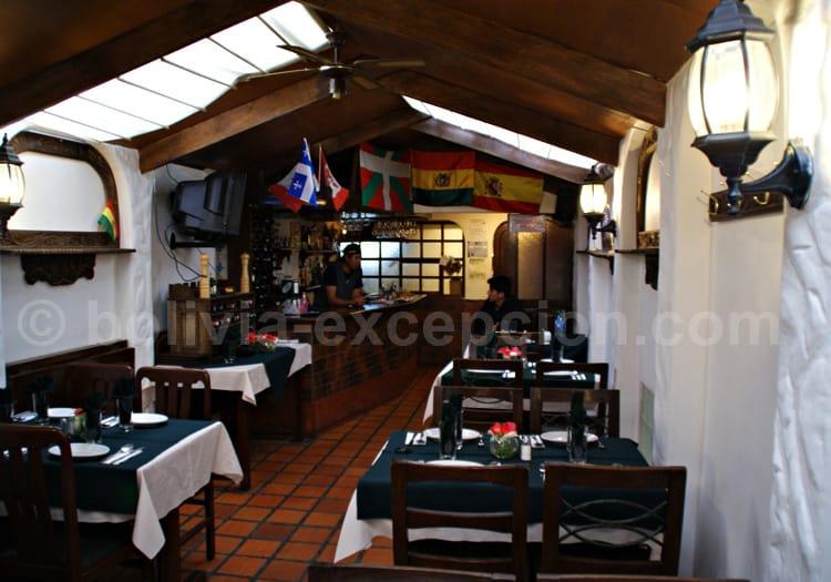Restaurant El Rincón Español à La Paz