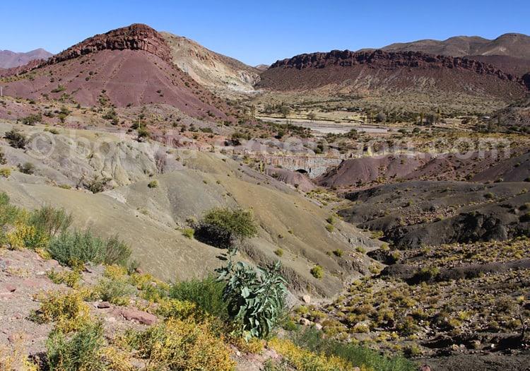 Route de Potosi à Uyuni