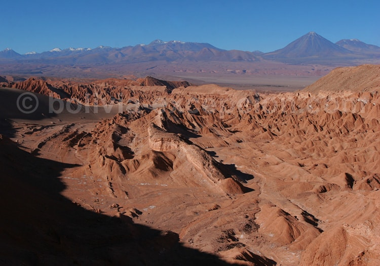 Découverte de la vallée de Mars, Atacama