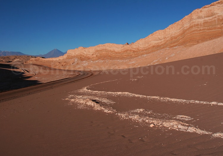 Excursion dans la vallée de La Lune, Atacama