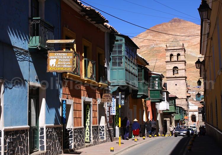 Ville de Potosi, Bolivie