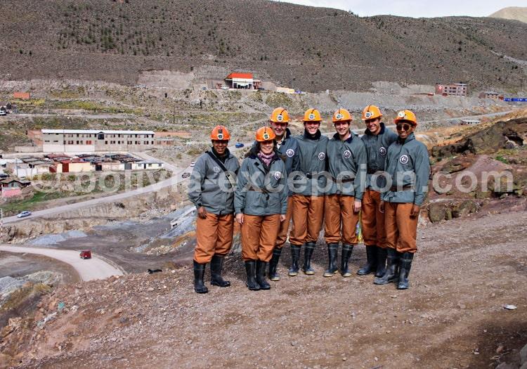 Visite de la mine de Potosi