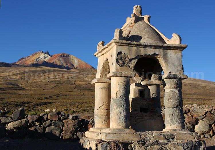 Chapelle sur la pente du Tunupa