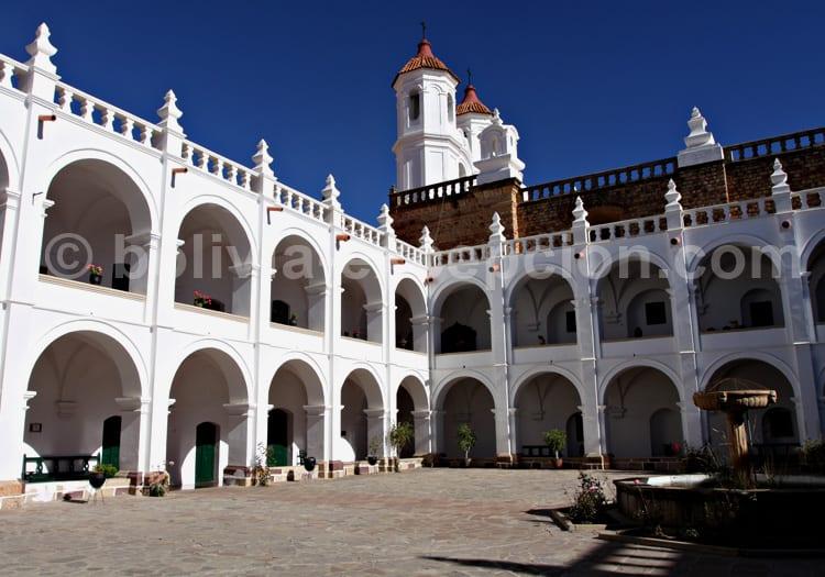 Visite du convent San Felipe de Neri, Sucre
