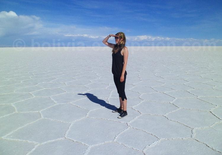 Uyuni, plus grand désert de sel de la planète