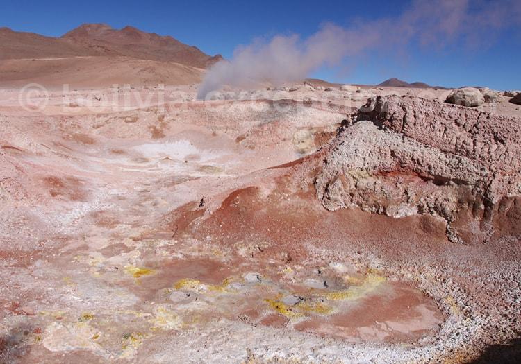 Exploration des geysers de Sol de Mañana