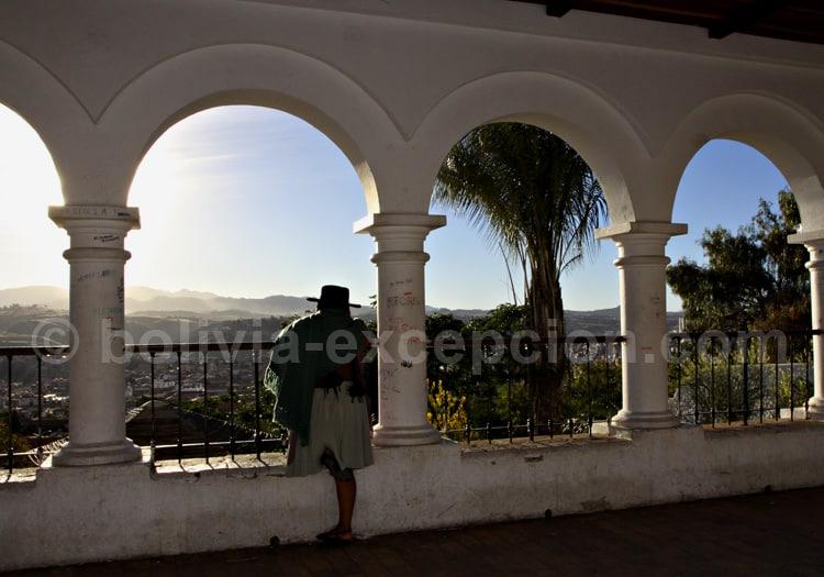 Vue de Sucre depuis La Recoleta