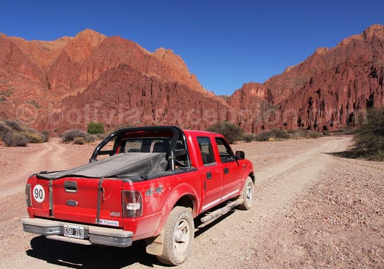 Excursion dans la vallée de Los Machos, Tupiza