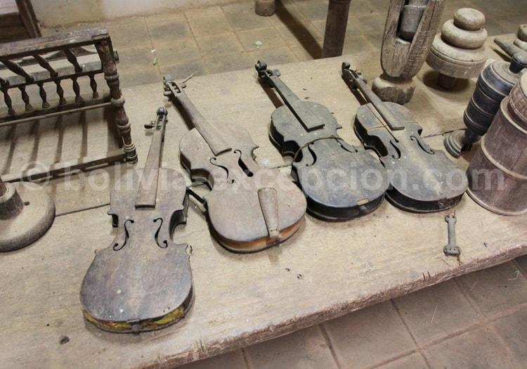 Instruments de musique, époque jésuite