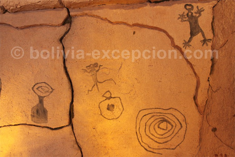 Peinture rupestres de Pumamachay, Bolivie