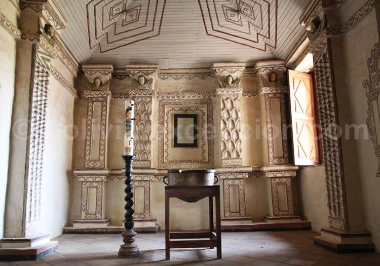 San Javier de Chiquitos, chapelle intérieure