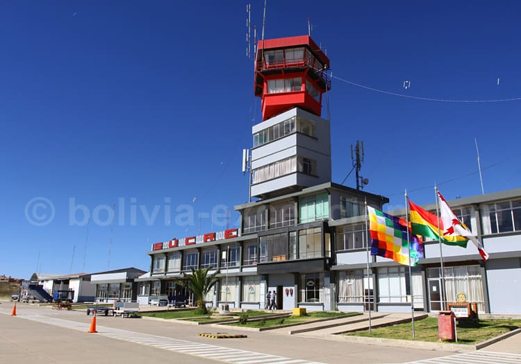 Aéroport Juana Azurduy de Padilla, Sucre